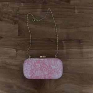 Pink Hardshell Lilly Pulitzer Clutch